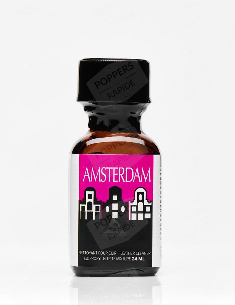 poppers Amsterdam Original 24 ml - Flacon rose