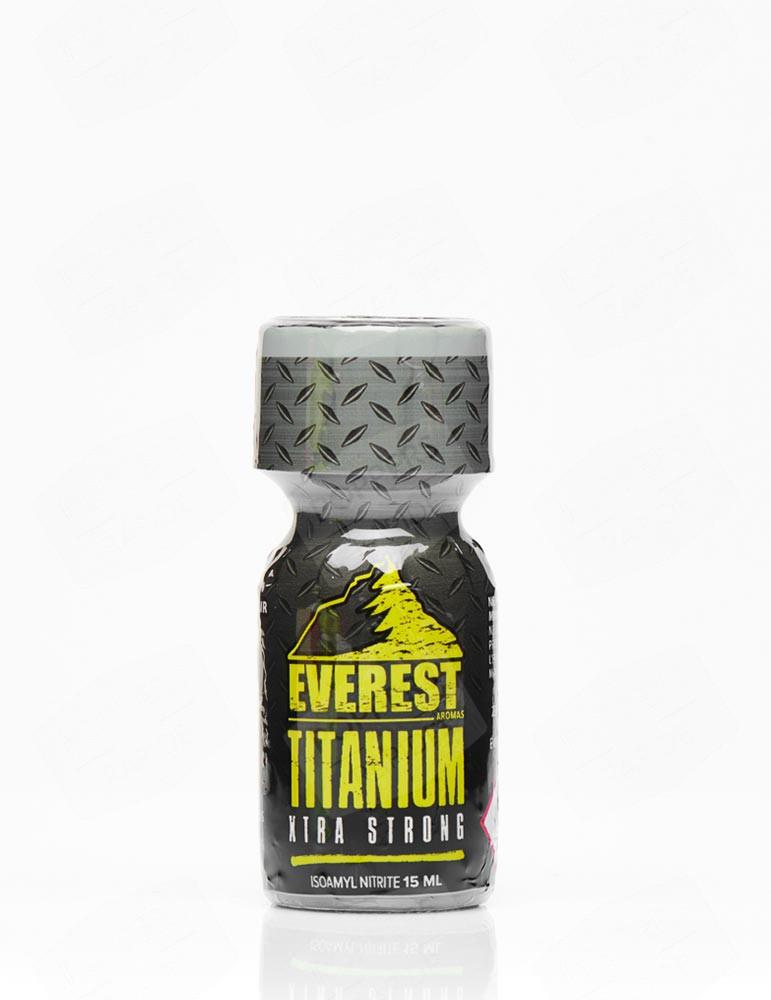 Poppers Everest titanium 15 ml