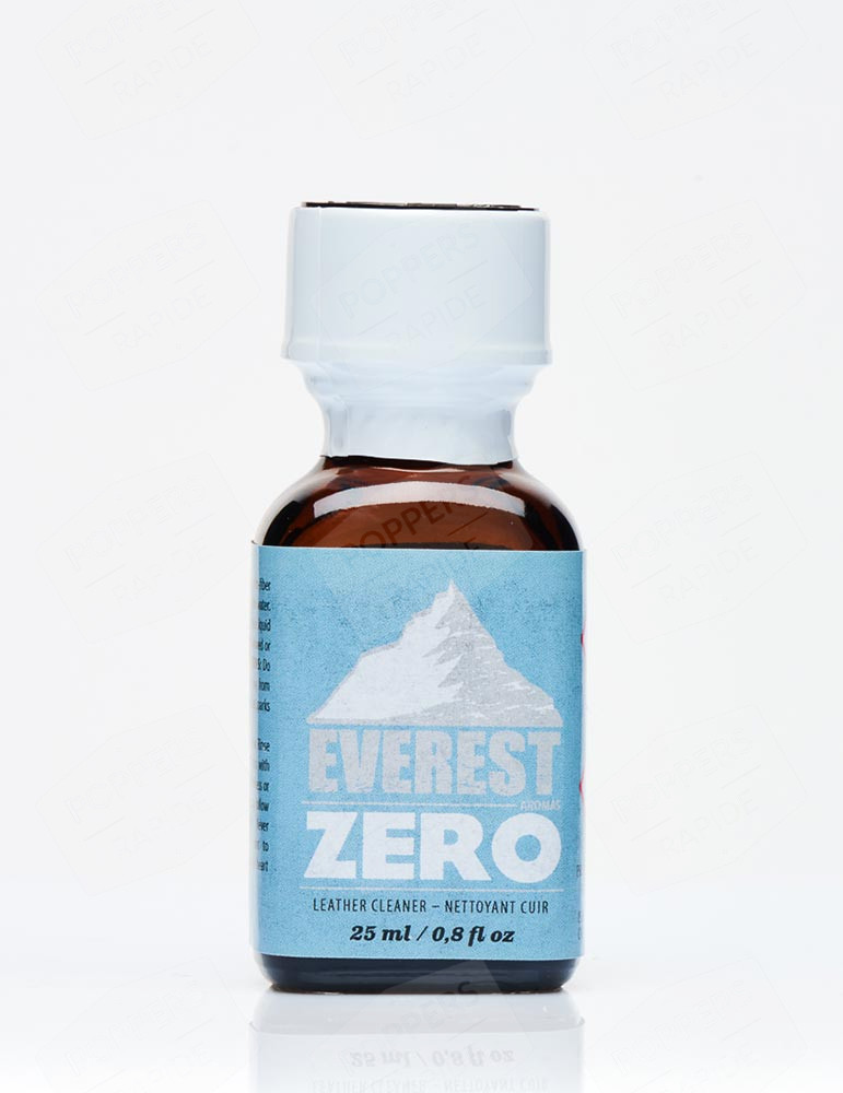 Bouteille poppers Grand format everest zero 24 ml