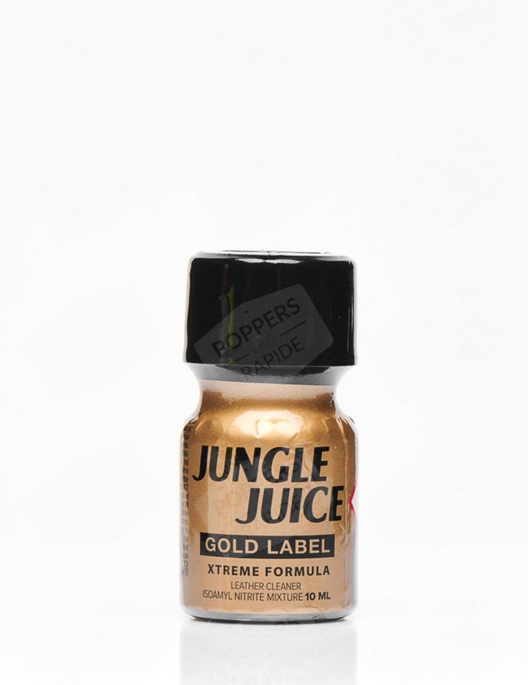 poppers jungle juice gold label en flacon de 10 ml