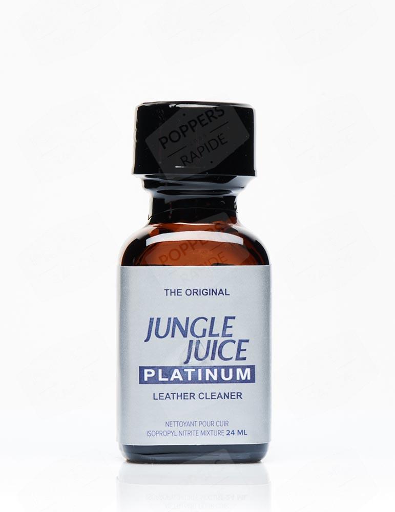 grand format flacon poppers jungle juice platinum. flacon de 24 ml