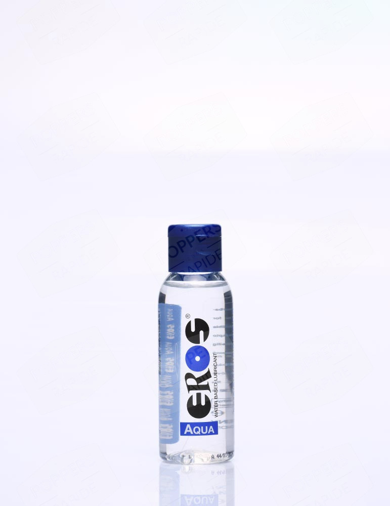lubrifiant à l'eau Eros aqua. Bouteille de 50 ml