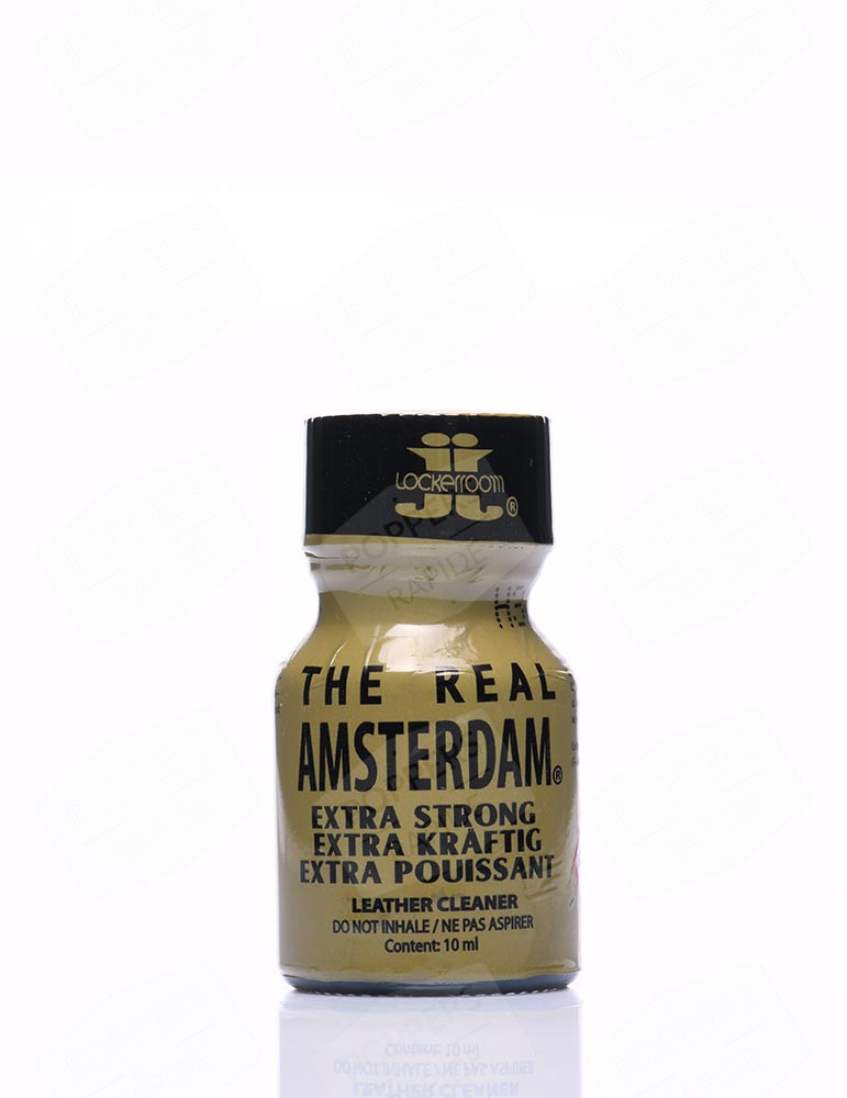 Bouteille de Poppers Real Amsterdam 10 ml Small