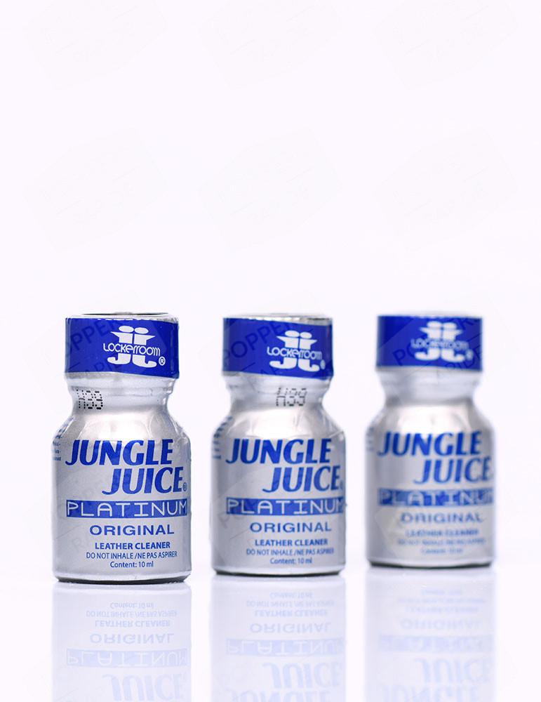Pack de 3 flacons jungle juice platinum 10 ml