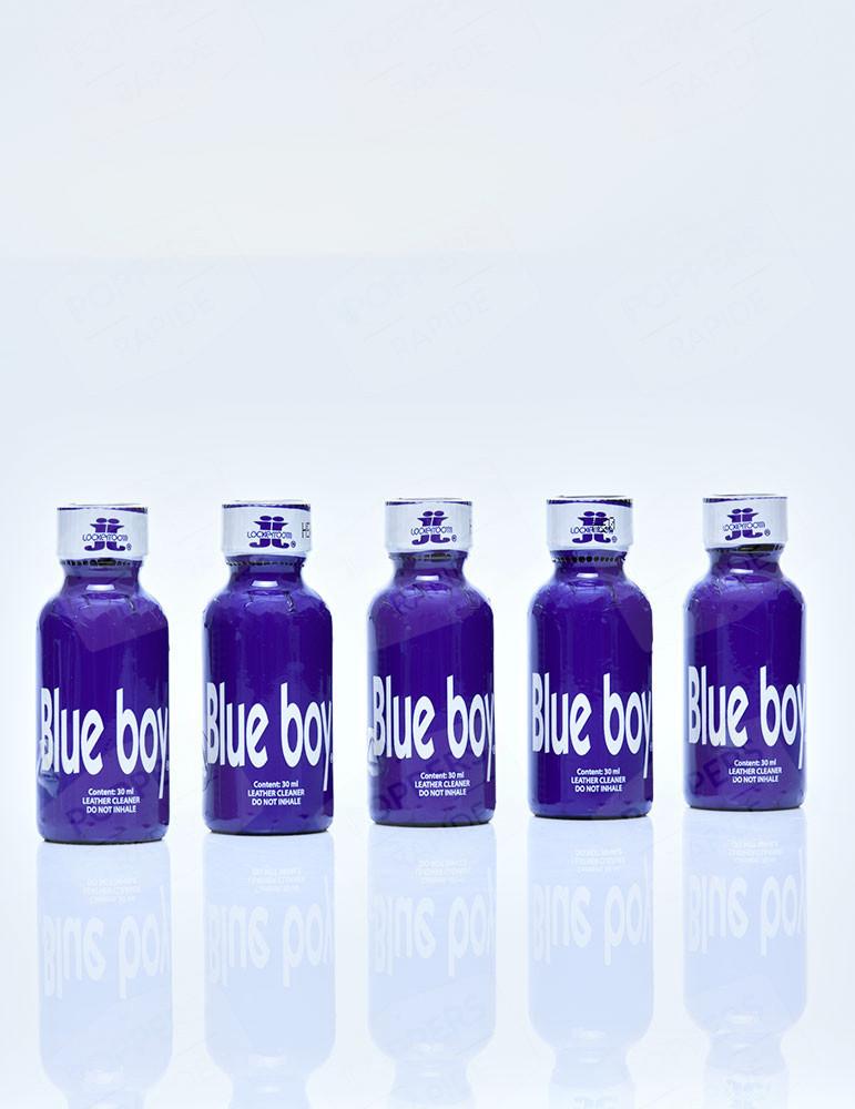 Lot de 5 flacons de poppers Blue Boy 30 ml